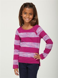 MPF3Girls 2-6 Sea Fever Long Sleeve Top by Roxy - FRT1