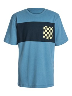 BMC0Boys 8- 6 Score Core Heather T-Shirt by Quiksilver - FRT1