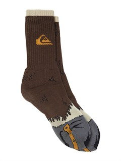 CTK0Boys 8- 6 District 3 Pack Socks by Quiksilver - FRT1