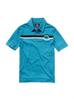 BLY0Boys 8- 6 Engineer Pat Short Sleeve Shirt by Quiksilver - FRT1