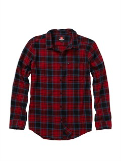 RRD1Boys 8- 6 Bam Bam Long Sleeve Flannel Shirt by Quiksilver - FRT1