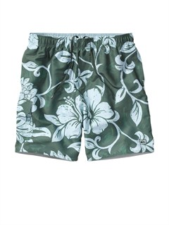 "GPL0Butt Logo  7"" Volley Boardshorts by Quiksilver - FRT1"