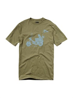 GNG0A Frames Slim Fit T-Shirt by Quiksilver - FRT1