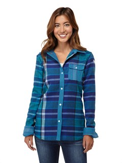 BNZ3Two Way Flannel Riding Shirt by Roxy - FRT1