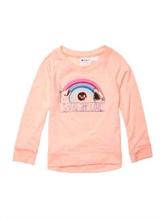 MGE0Girls 2-6 Block Rocks Harmony Tee by Roxy - FRT1