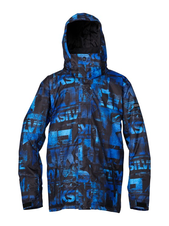 PRM3Over And Out Gore-Tex Pro Shell Jacket by Quiksilver - FRT1