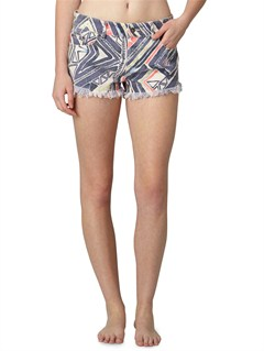 SEZ7Smeaton Denim Print Shorts by Roxy - FRT1