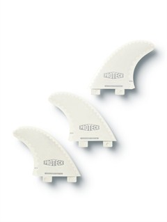 WHTFCS 2 Green Tri Fin Set by Quiksilver - FRT1
