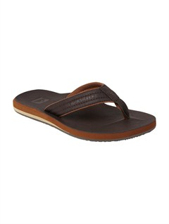DBRBoys 8- 6 Carver Suede Sandals by Quiksilver - FRT1