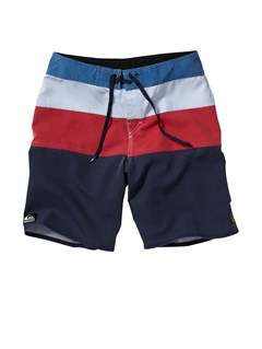 NVYBoys 8- 6 Clink Boardshorts by Quiksilver - FRT1