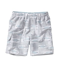 "WBB0Butt Logo  7"" Volley Boardshorts by Quiksilver - FRT1"