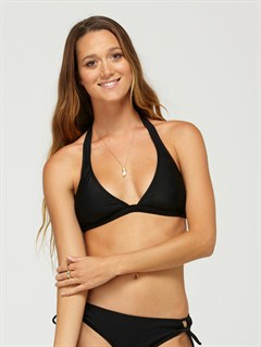BLKSurf Essentials Fringe Bandeau Bikini Top by Roxy - FRT1