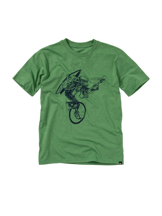 GPSHBoys 8- 6 Mountain And Wave Shirt by Quiksilver - FRT1