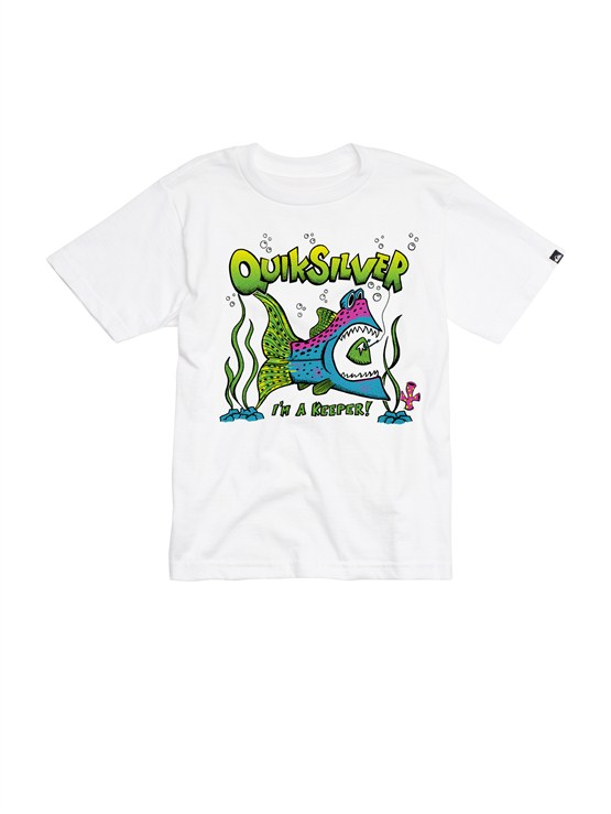 WBB0Boys 2-7 After Hours T-Shirt by Quiksilver - FRT1