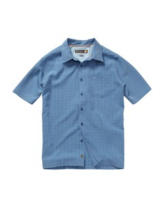 BLL0Men s Anahola Bay Short Sleeve Shirt by Quiksilver - FRT1
