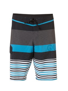 "KVJ3Yoke Checker  8"" Boardshorts by Quiksilver - FRT1"