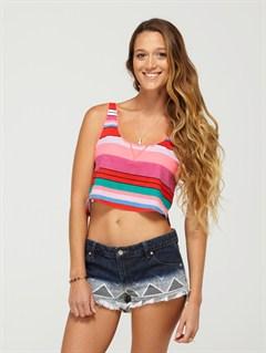 BDRSpring Fling Tiki Tri Bikini Top by Roxy - FRT1