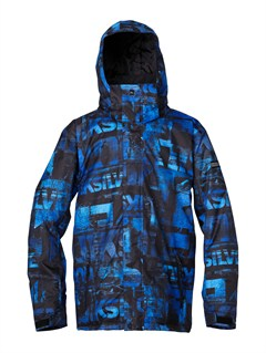 PRM3Harvey  0 Insulated Jacket by Quiksilver - FRT1