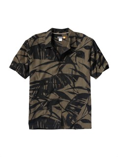 BRNMen s Clear Days Short Sleeve Shirt by Quiksilver - FRT1