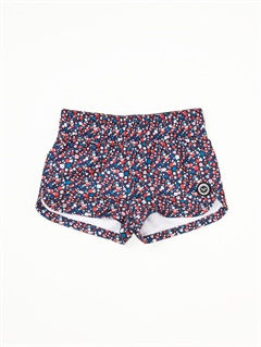 DKBGirls 2-6 Blue Bird Shorty Shorts by Roxy - FRT1
