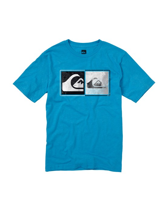 BMJHBoys 8- 6 Mountain And Wave Shirt by Quiksilver - FRT1
