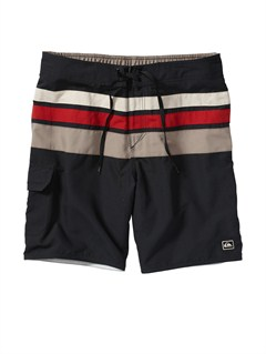"KVJ0Butt Logo  7"" Volley Boardshorts by Quiksilver - FRT1"