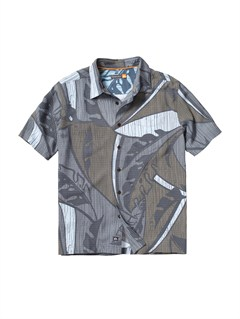 KQZ0Men s Aganoa Bay Short Sleeve Shirt by Quiksilver - FRT1