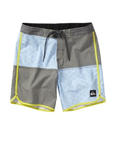 GPB6Custom Scallop  8  Boardshorts by Quiksilver - FRT1