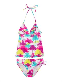 WBB6Girls 7- 4 Wild and Free Tiki Triangle Bikini Set by Roxy - FRT1