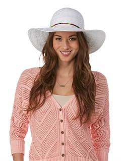 WBB0Breezy Straw Hat by Roxy - FRT1