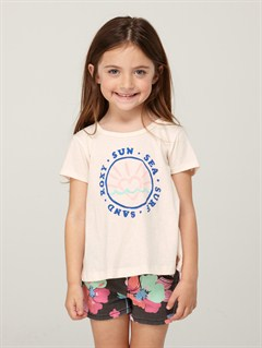 WHTGirls 2-6 Block Rocks Harmony Tee by Roxy - FRT1