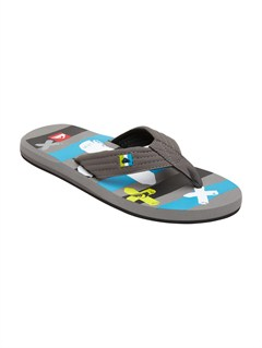 GBFBoys 8- 6 Foundation Cush Sandals by Quiksilver - FRT1