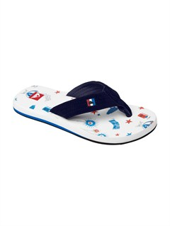 RHBBoys 8- 6 Foundation Cush Sandals by Quiksilver - FRT1