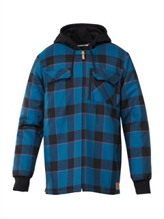 BSG0Connector Flannel Riding  Shirt by Quiksilver - FRT1