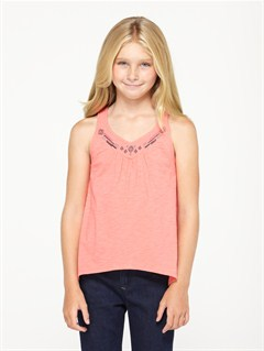MJJ0Girls 7- 4 Oak Holly Top by Roxy - FRT1