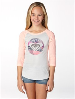 SFV0Girls 7- 4 Anchored Baseball Tee by Roxy - FRT1