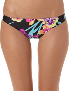 KVJ6Sun Kissed 70s Lowrider Tie Side Bikini Bottoms by Roxy - FRT1