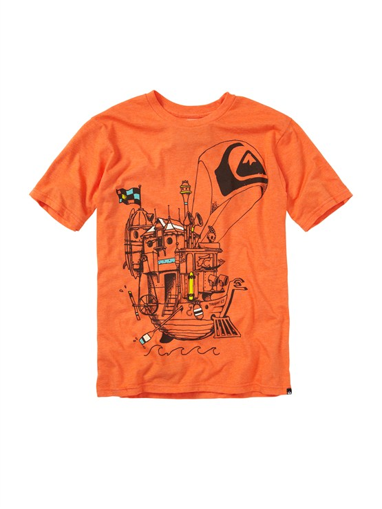 NMJHBoys 2-7 Gravy All Over T-Shirt by Quiksilver - FRT1