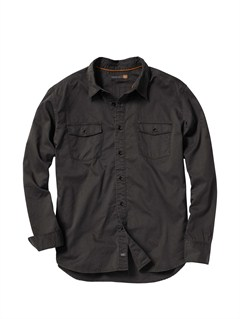 KSA0Men s Hazard Cove Long Sleeve Flannel Shirt by Quiksilver - FRT1