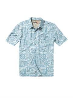 BGC0Crossed Eyes Short Sleeve Shirt by Quiksilver - FRT1