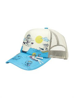 CLDPlease Hold Trucker Hat by Quiksilver - FRT1