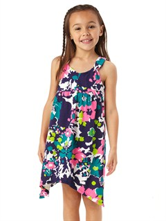PSS7Girls 2-6 Block Party Dress by Roxy - FRT1