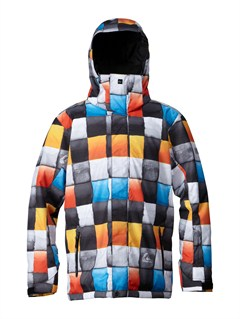 BNL1Mission  0K Insulated Jacket by Quiksilver - FRT1