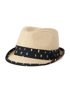YEF0Boys 8- 6 Boardies Hat by Quiksilver - FRT1