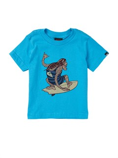BMJ0Baby Biter Glow in the Dark T-Shirt by Quiksilver - FRT1