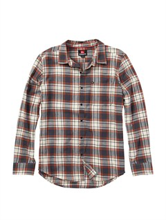 WDV1Boys 2-7 Bam Bam Long Sleeve Flannel Shirt by Quiksilver - FRT1