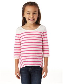 WBS3Girls 2-6 Sea Fever Long Sleeve Top by Roxy - FRT1