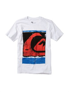 WBB0BOys 8- 6 Rad Dip T-Shirt by Quiksilver - FRT1