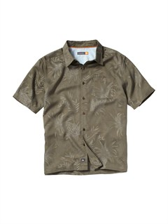 KQZ0Men s Baracoa Coast Short Sleeve Shirt by Quiksilver - FRT1