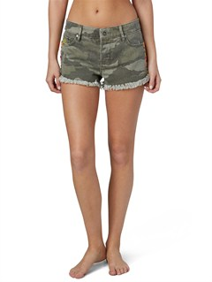 GPB6Breaking Camo Shorts by Roxy - FRT1